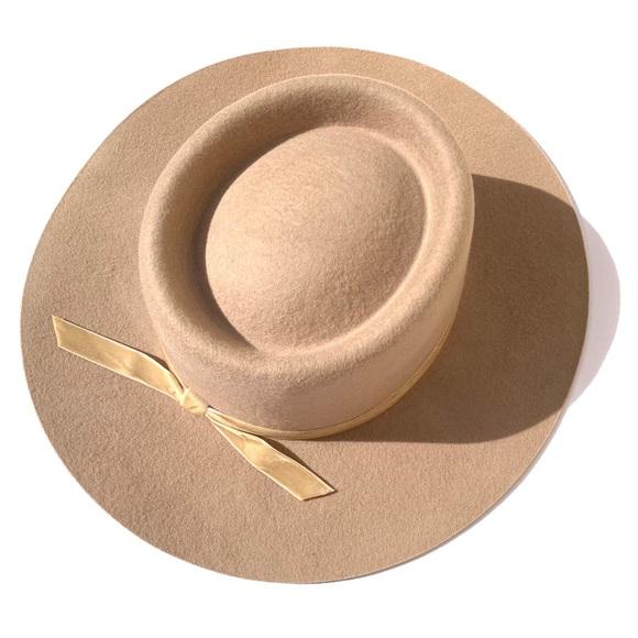 cf5519642cb NWT Lack of Color Joplin firm brim boater hat
